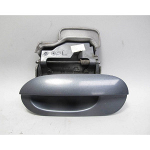 BMW E46 3-Series 4dr Right Rear Exterior Outside Door Handle Silver 2001-2005 OE