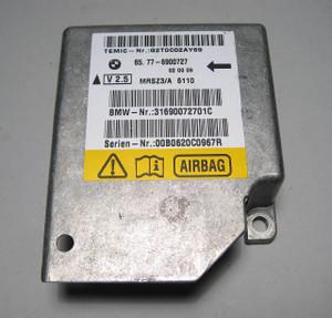 BMW Airbag Sensor Control Module Brain E38 E39 Z8 X5 E53 3/99+  6900727 USED OEM - 2592
