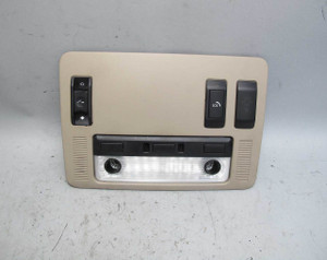 2004-2010 BMW E63 6-Series Front Headliner Ceiling Switch Unit Map Light Beige - 20398