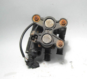 BMW E34 5-Series E31 E32 Hot Water Heater Valve w Aux Water Pump 1988-1997 USED - 433