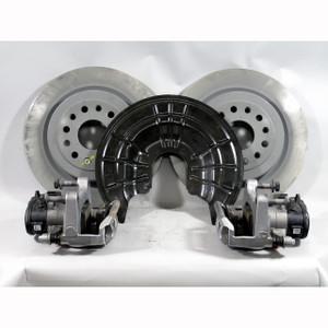 2019 Ram 1500 Rear Caliper Rotors Dust Shield  Brake Pad Set Kit OEM 68412367AA - 22146