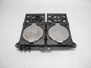 2002-2005 BMW E65 E66 7-Series Front Center Console Cup Holders Dark Silver OEM - 22540