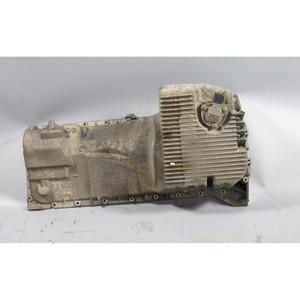 Damaged BMW Z3 Oil Pan w Level Sender 1999-2002 OEM 2.5 2.8 3.0i Coupe Roadster - 23396