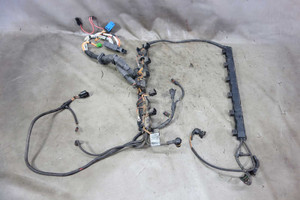 2006 BMW E60 5-Series E61 N52 I6 Early Engine Wiring Harness Ignition Coils OEM - 24956