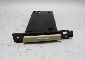 BMW E90 3-Series Factory Right Front Passenger Dash Cup Holder Beige Chrome USED - 12801