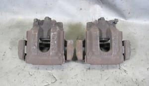 BMW E39 M5 Factory Rear Brake Caliper Pair Left Right w Brackets  2000-2003 OEM - 7361