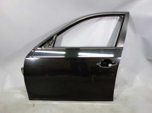 2004-2010 BMW E60 5-Series Left Front Drivers Exterior Door Shell Black Sapphire - 26590