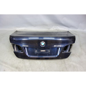 2011-2016 BMW F10 5-Series Rear Trunk Deck Boot Lid Imperial Blue Panel OEM - 26879