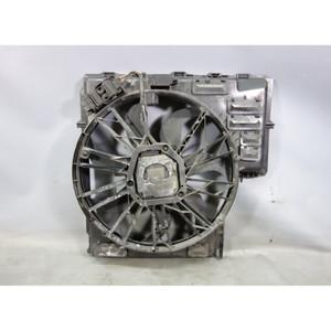 2004-2006 BMW E53 X5 N62 4.4i 4.8is V8 Electric Engine Cooling Fan w Shroud OEM - 27202
