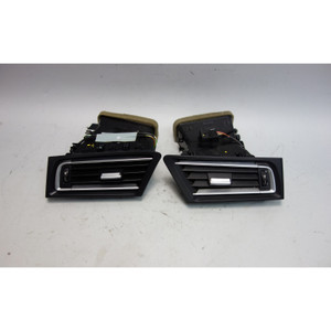 2009-2015 BMW F01 7-Series F02 Front Dashboard Side Fresh Air Vent Pair 4-Zone - 27268
