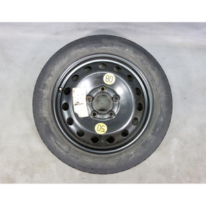 """1997-2006 BMW E46 3-Series Z3 16"""" Factory Compact Emergency Spare Wheel and Tire - 27470"""