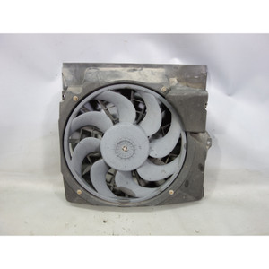 1993-1996 BMW E36 3-Series Factory Auxiliary Electric Pusher AC Fan w Shroud OEM - 27526
