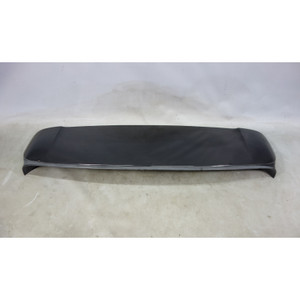 Damaged 2007-2010 BMW E70 X5 SAV Early Rear Trunk Lid Spoiler Wing Black Sapphir - 27687
