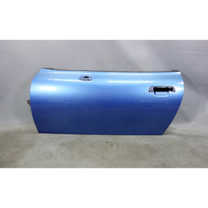 1996-2002 BMW Z3 Roadster Coupe Left Outside Door Shell Frame Estoril Blue OEM - 28046