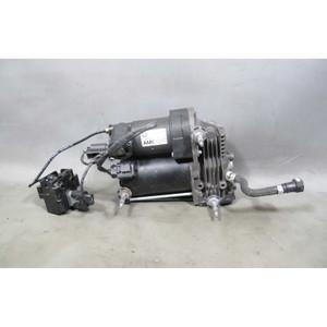 2007-2014 BMW E70 X5 E71 X6 Factory Self-Leveling Air Suspension Compressor Pump - 16725