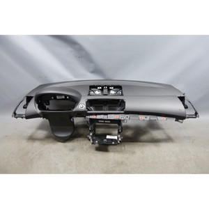2008-2013 BMW E82 E88 1-Series Factory Dashboard Trim Panel Black w/ Navigation - 28127