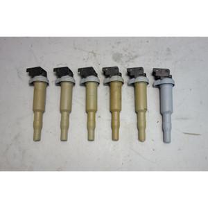 03-17 BMW Factory Bosch Ignition Coil Set of 6 F30 E89 E60 E46 E82 E60 F10 OEM - 28264