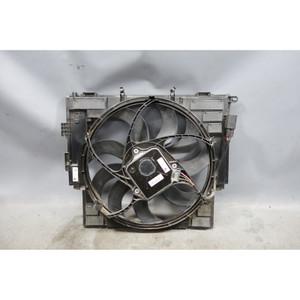 2014-2016 BMW F10 528i 528iX Auxilary Aux Electric AC Cooling Fan w Frame OEM - 28204