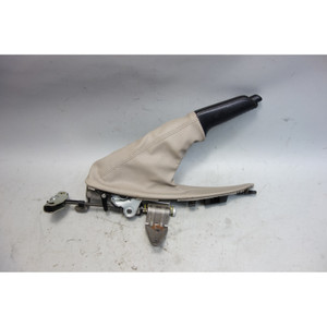 2008-2013 BMW E82 E88 1-Series Emergency Hand Parking Brake Lever w Beige Boot - 28373