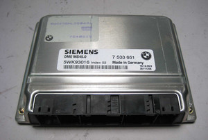 BMW E85 Z4 DME Engine Control Module ECU ECM MS45 2003-2006 USED OEM E83 Z3 - 3010