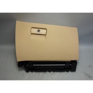 2004-2010 BMW E83 X3 SAV Front Passenger's Glove Box Sand Beige Vinyl w Latch OE - 28560