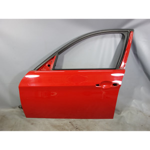 2006-2012 BMW E90 E91 3-Series 4door Left Front Driver's Exterior Door Shell Red - 28726