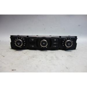Damaged 2005 BMW E60 5-Series E63 Automatic Climate AC Control Interface Unit OE - 28885
