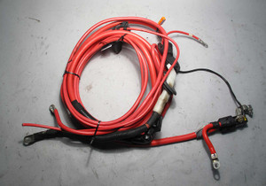 BMW E38 7-Series Long Positive Red Battery Cable Complete w Terminal 1998-2001 - 7614