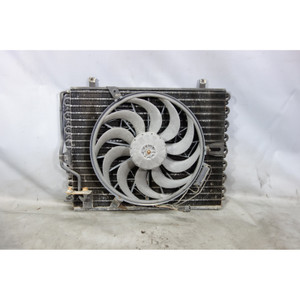 BMW E34 5-Series E32 AC Condenser w Auxiliary Electric Pusher Fan 1988-1995 USED - 29120