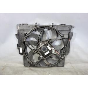 2014-2016 BMW F10 528i 528iX Auxilary Aux Electric AC Cooling Fan w Frame OEM - 29286