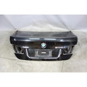 2011-2016 BMW F10 5-Series Rear Trunk Deck Boot Lid Black Sapphire Panel OEM - 29371