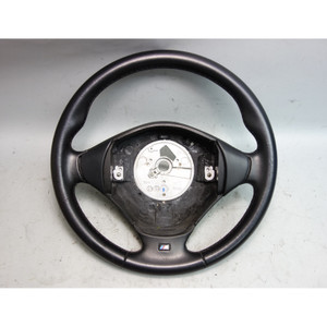 1999-2002 BMW Z3 Roadster Coupe Factory M Sports Leather Steering Wheel OEM - 29379