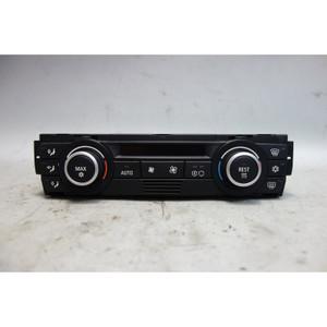 2006-2008 BMW E90 E92 E82 3-Series Auto AC Heat Climate Control w Scratch OEM - 29382