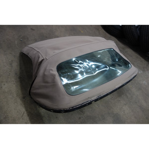 1996-2002 BMW Z3 E36/7 Roadster Convertible Folding Top Frame Beige w Headliner - 29408