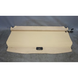 Damage 2004-2010 BMW E83 X3 SAV Rear Trunk Boot Roller Cargo Privacy Cover Beige - 29412