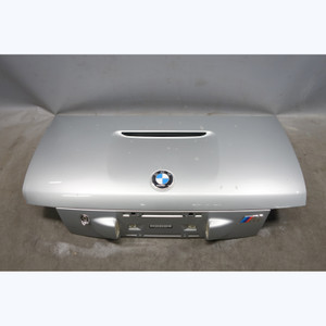 1998-2002 BMW Z3 M Roadster Factory Trunk Deck Lid Cover Panel Arctic Silver OEM - 29497
