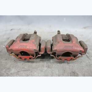 2001-2006 BMW E46 M3 Factory Rear Brake caliper Pair w Red Paint USED OEM - 29443