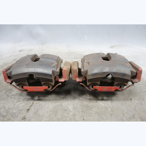 2001-2006 BMW E46 M3 //M Front Brake Caliper Set Pair Left Right Painted Red OEM - 29444