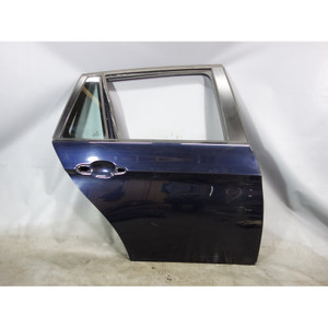 BMW E91 3-Series Touring Wagon Right Rear  Door Shell Monaco Blue 2006-2012 OEM - 29507