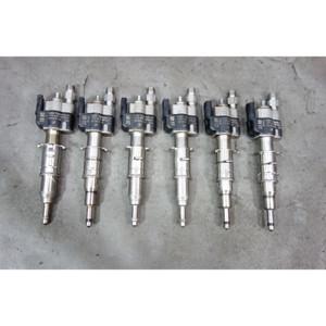 2008-2017 BMW N54 6-Cyl N63 V8 Direct Fuel Injector Set of 6 Index 08 10 11 - 29956