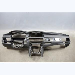 2008-2010 BMW E60 5-Series E61 Leather-Wrapper Dashboard Tirm Panel Black OEM - 29657