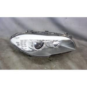 Damaged 2011-2013 BMW F10 5-Series Right Front Xenon Adaptive Headlight Lamp OEM - 29671