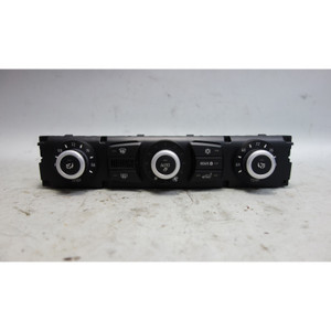 Damaged 2008-2010 BMW E60 E61 5-Series Auto AC Climate Control Panel Interface - 29683