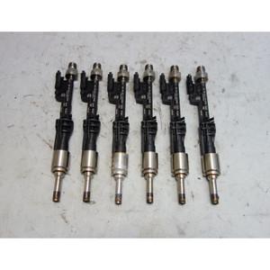 2011-2017 BMW E90 335i F10 535i N55 I6 Turbo Engine Direct Fuel Injector Set 6 - 29757