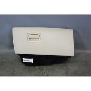 2011-2016 BMW F10 5-Series Front Interior Glove Box Assembly Oyster Beige Vinyl - 29785