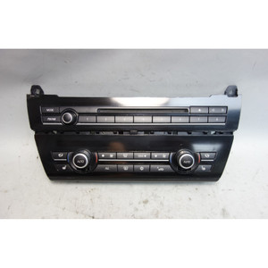 Damaged 2011-2016 BMW F10 5-Series Automatic Climate Control w Radio Head Unit - 29800