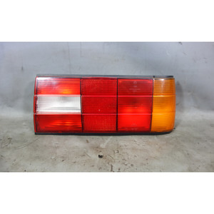 BMW E30 3-Series Late Model Right Rear Passen Tail Light Lamp Housing w Tray OEM - 29828