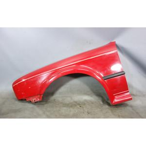 1988-1991 BMW E30 325ix Left Front Drivers Fender Quarter Panel Cinna Bar Red OE - 29839