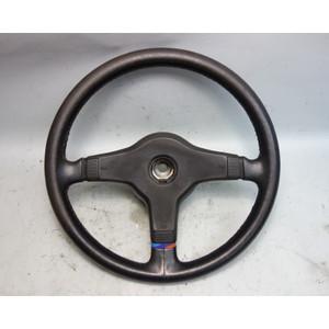 1984-1993 BMW E30 3-Series E28 E24 Factory M Technik Sports Steering Wheel 385mm - 29843