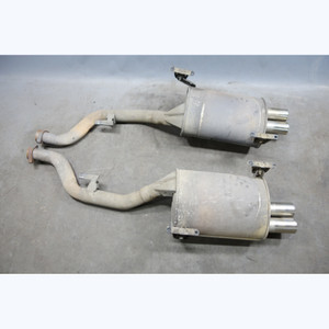 1998-2002 BMW Z3 ///M 3.2 Roadster Coupe Rear Exhaust Muffler Pair w Tips OEM - 29905